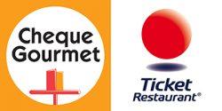 Aceptamos Cheque Gourmet y Ticket Restaurant