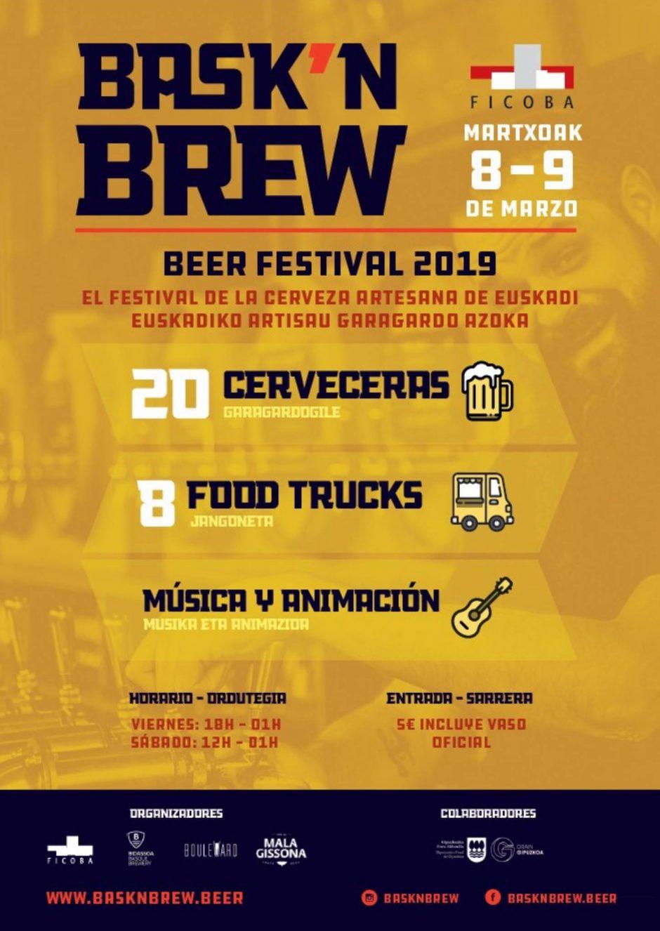 bask'n'brew festival cerveza artesana
