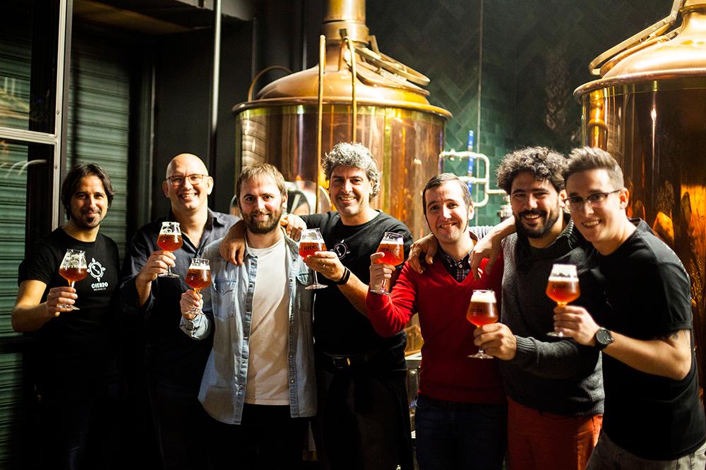 socios cierzo brewing co zaragoza cerveza artesana