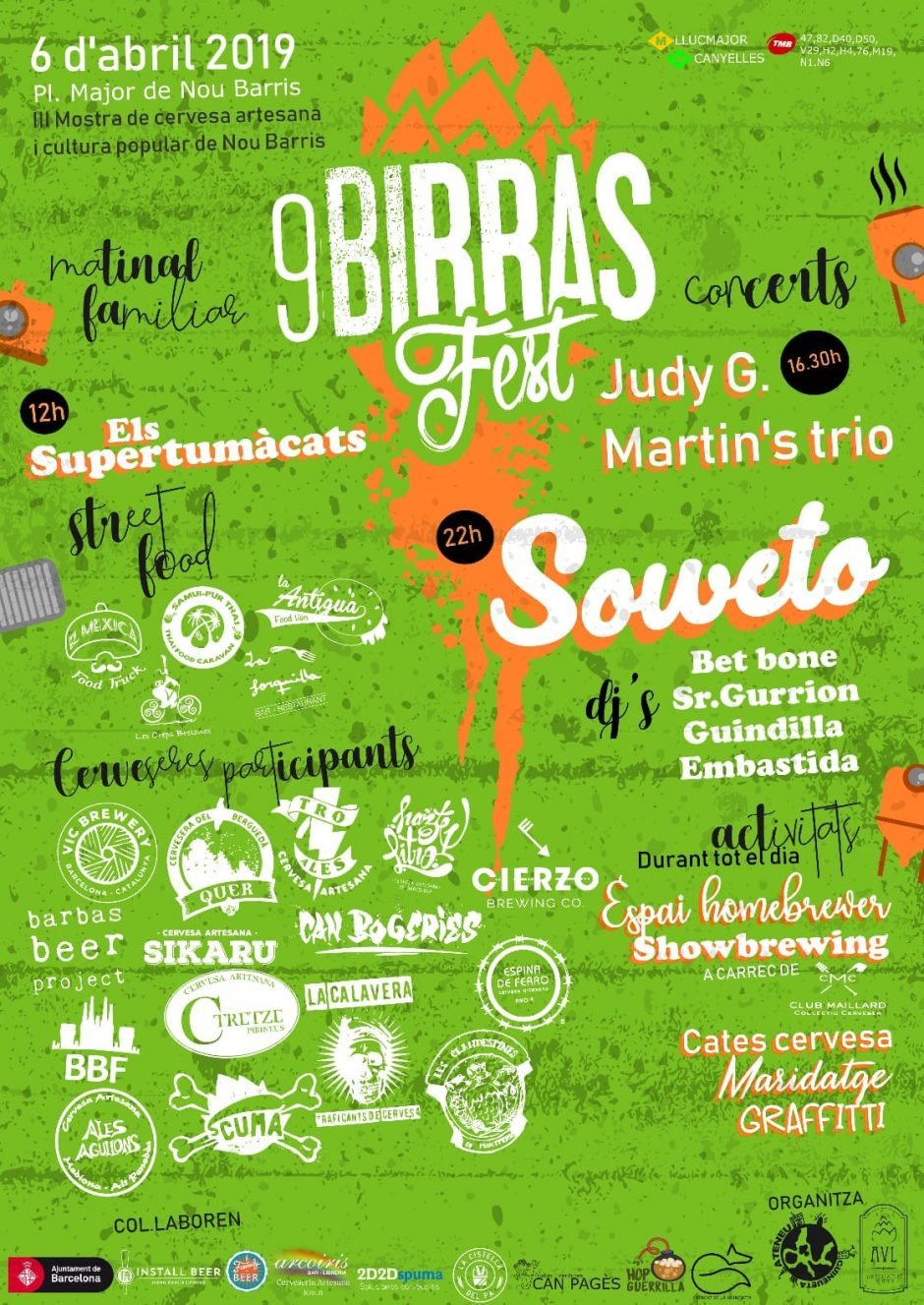 9 birras fest craft beer