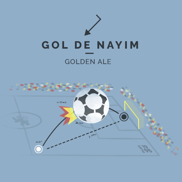 Gol de Nayim Golden Ale