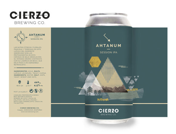 ahtanum session ipa cerveza zaragoza