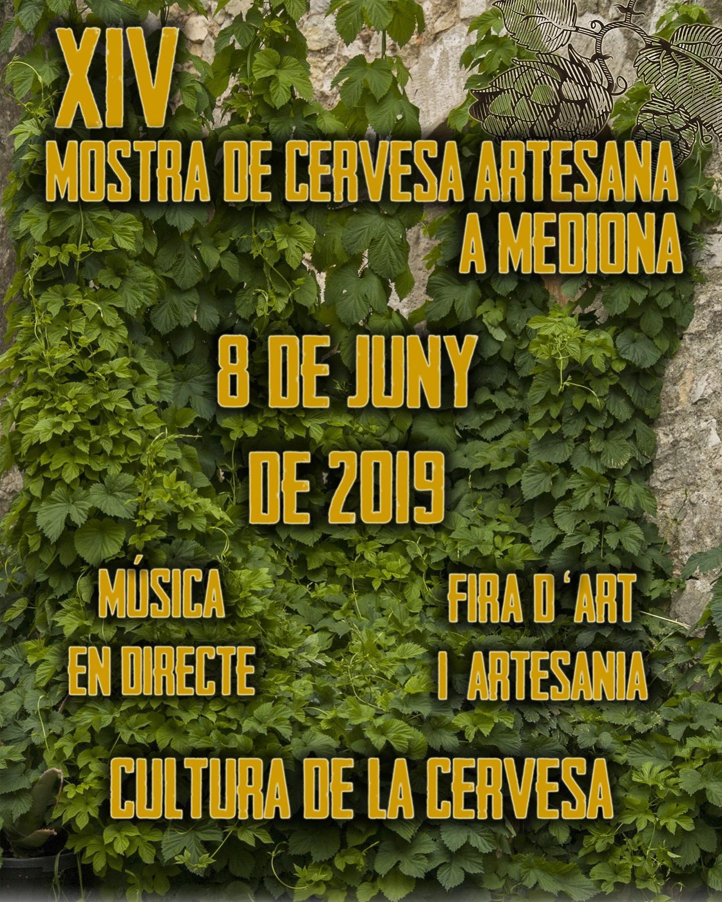festival cerveza artesana mediona craft beer