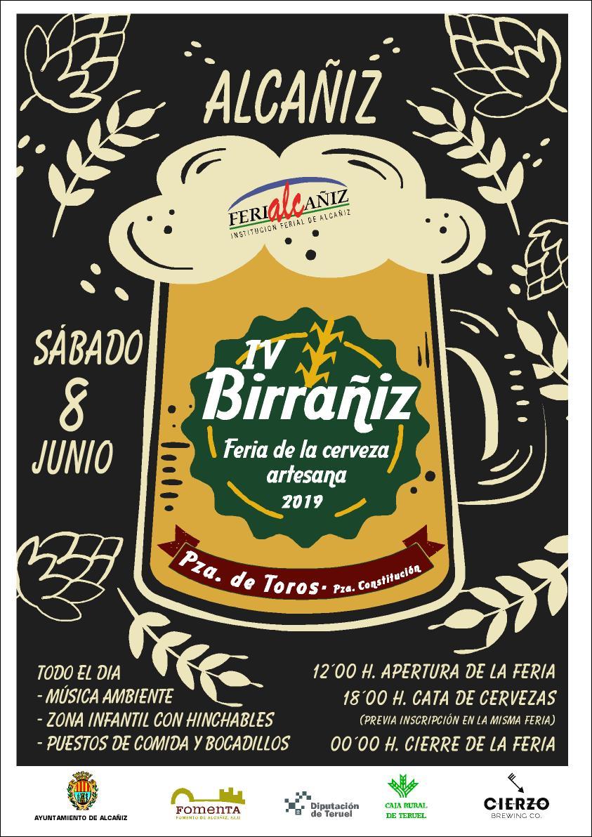 festival cerveza artesana birrañiz alcañiz craft beer