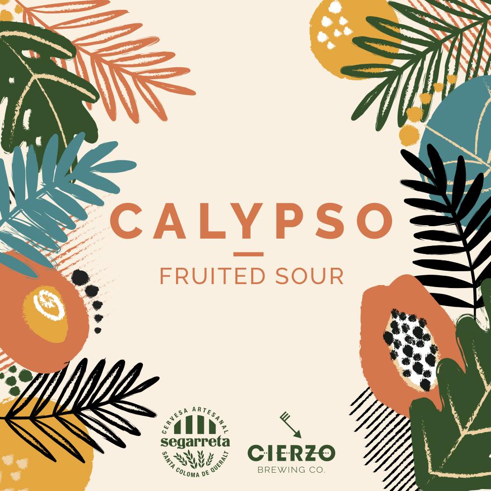 calypso fruited sour cerveza artesana
