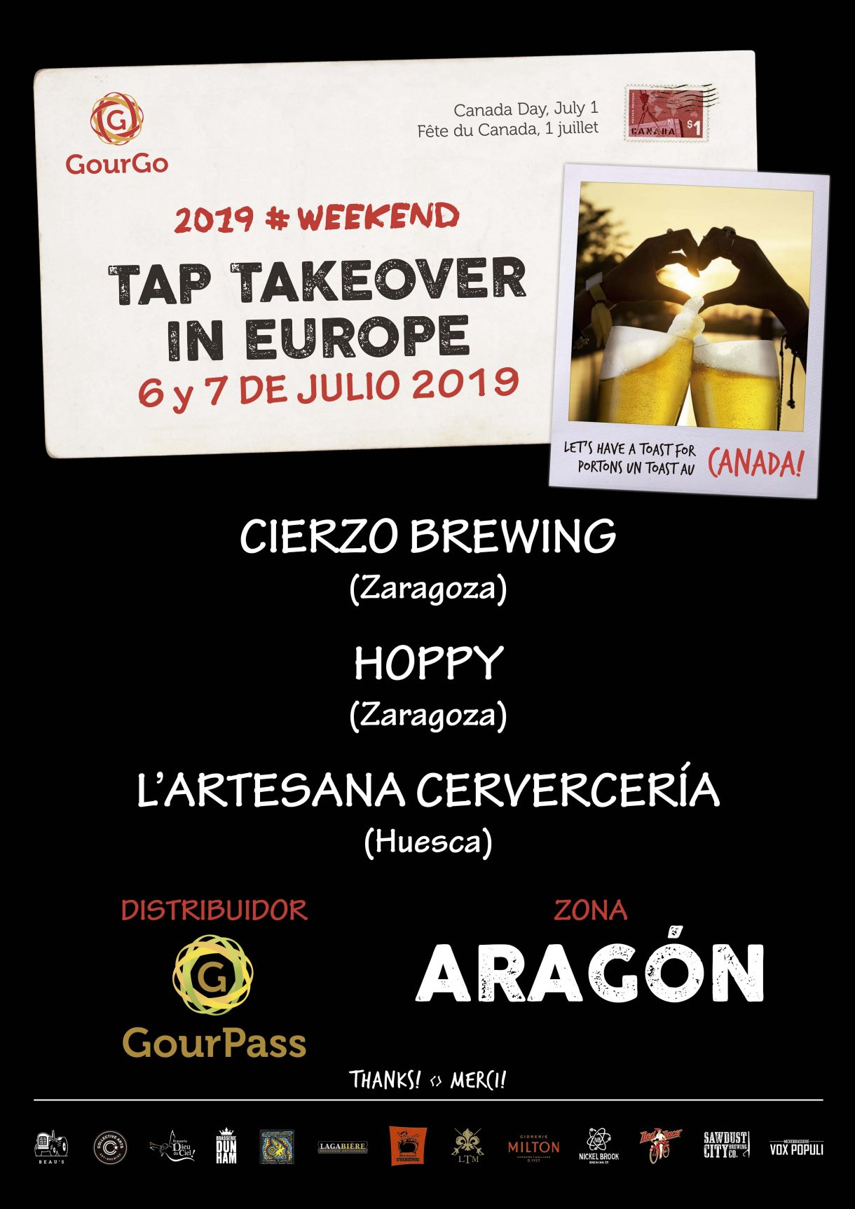 craft beer canada zaragoza