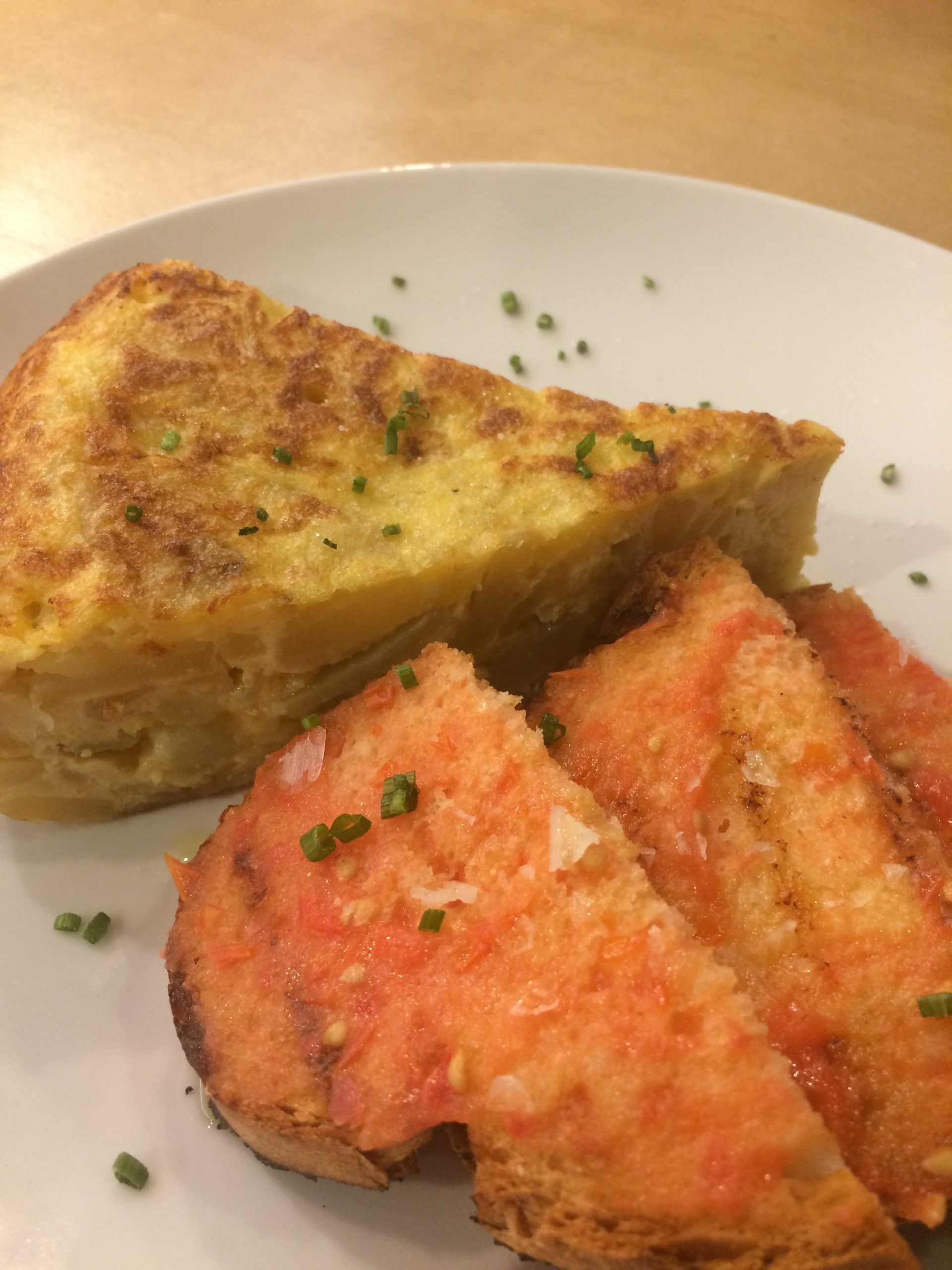 desayuno brunch zaragoza tortilla