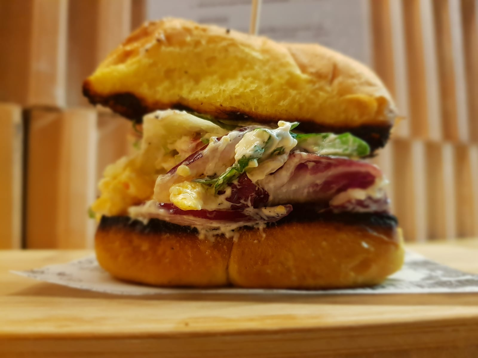 desayuno brunch zaragoza mini sandwich vegetal