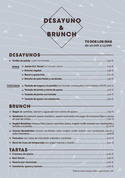 desayuno brunch zaragoza
