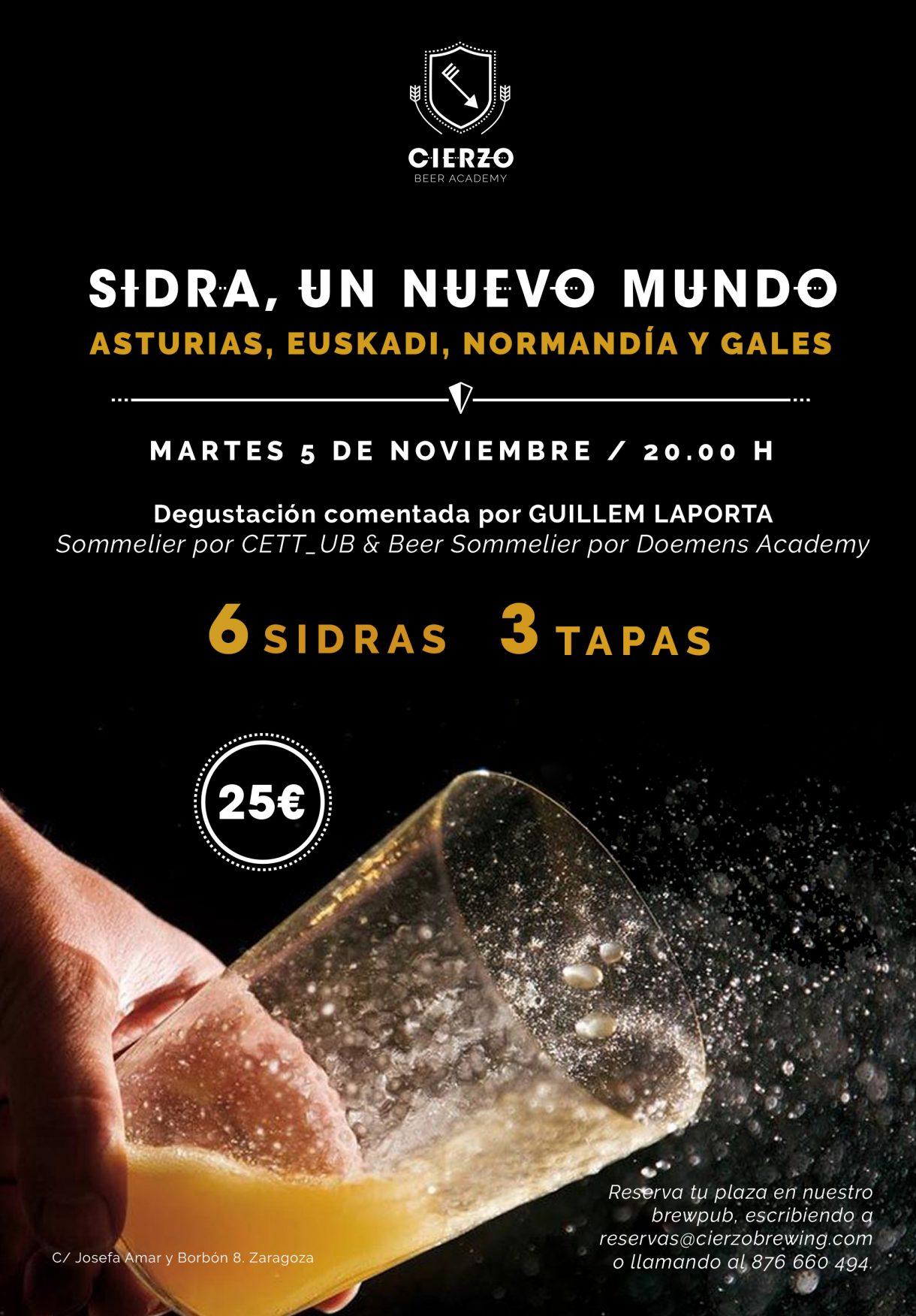 cata cena sidra asturiana vasca tapas