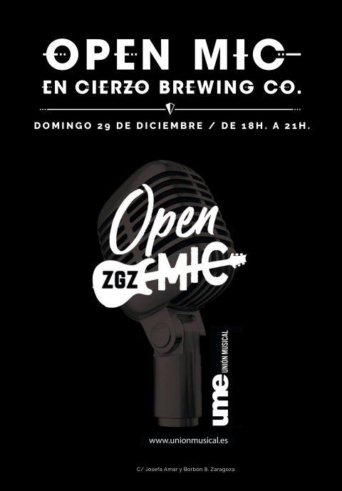 open mic zaragoza musica directo