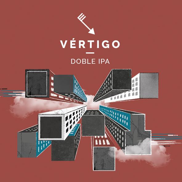 vertigo doble ipa cerveza zaragoza