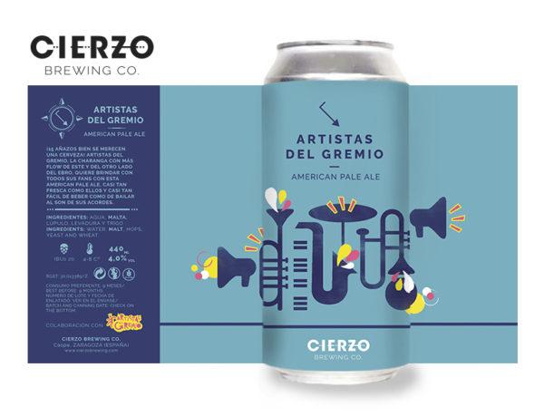 artistas del gremio apa cerveza zaragoza