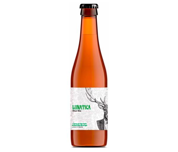 cerveza zaragoza lunatica wheat wine