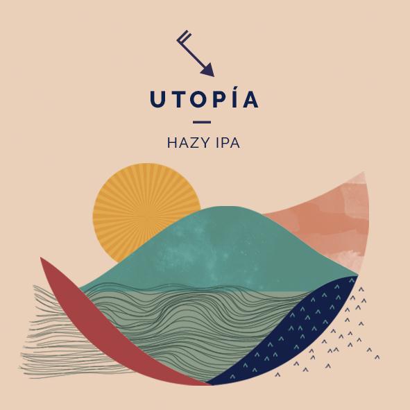 utopia cerveza hazy ipa zaragoza