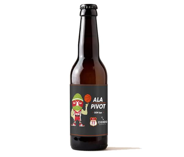 cerveza ala pivot ddh ipa mc77 zaragoza