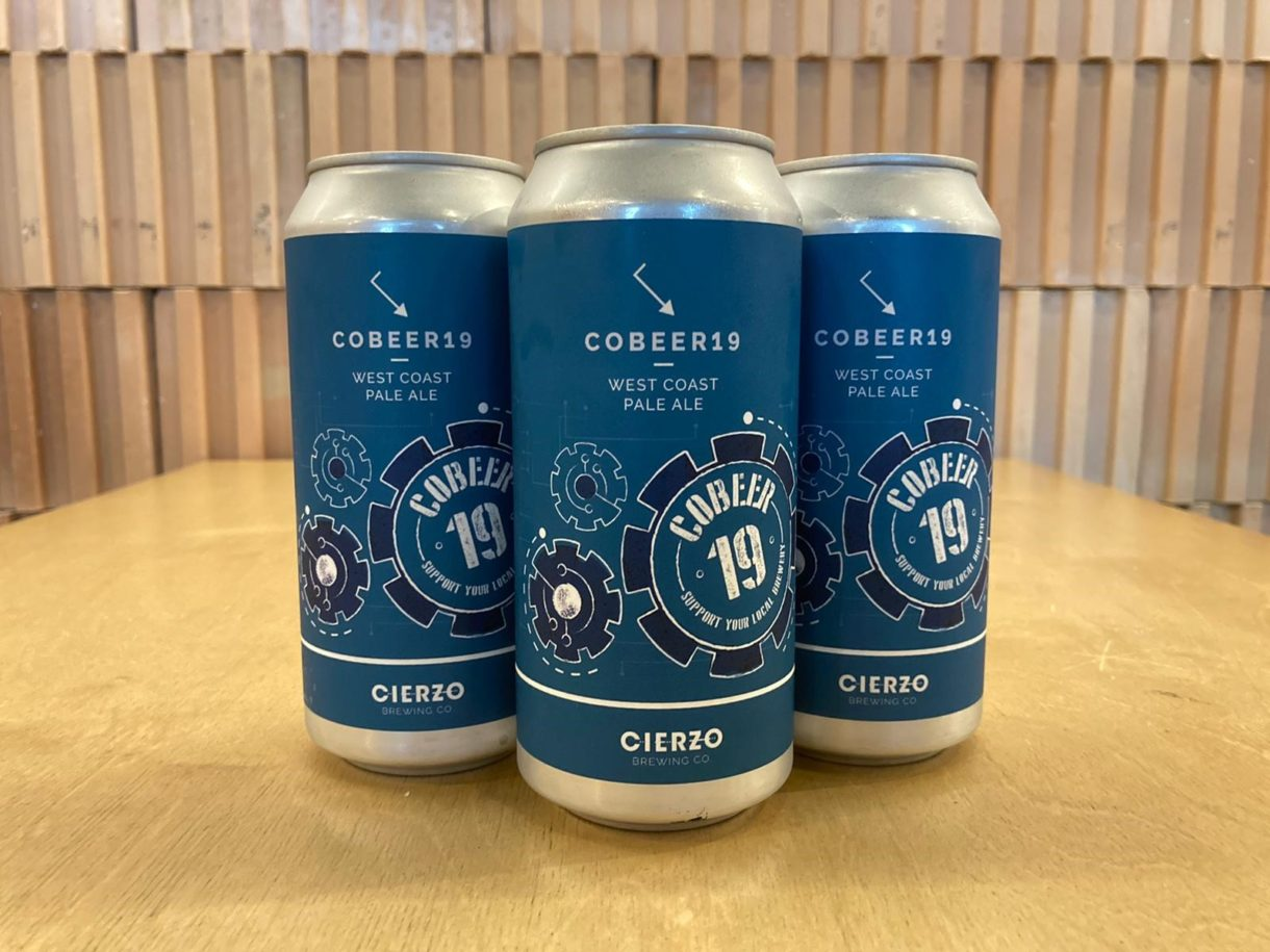 cerveza cobeer 19 west coast pale ale zaragoza