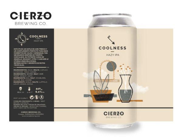 coolness hazy ipa cerveza zaragoza