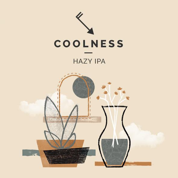 cerveza coolness hazy ipa zaragoza