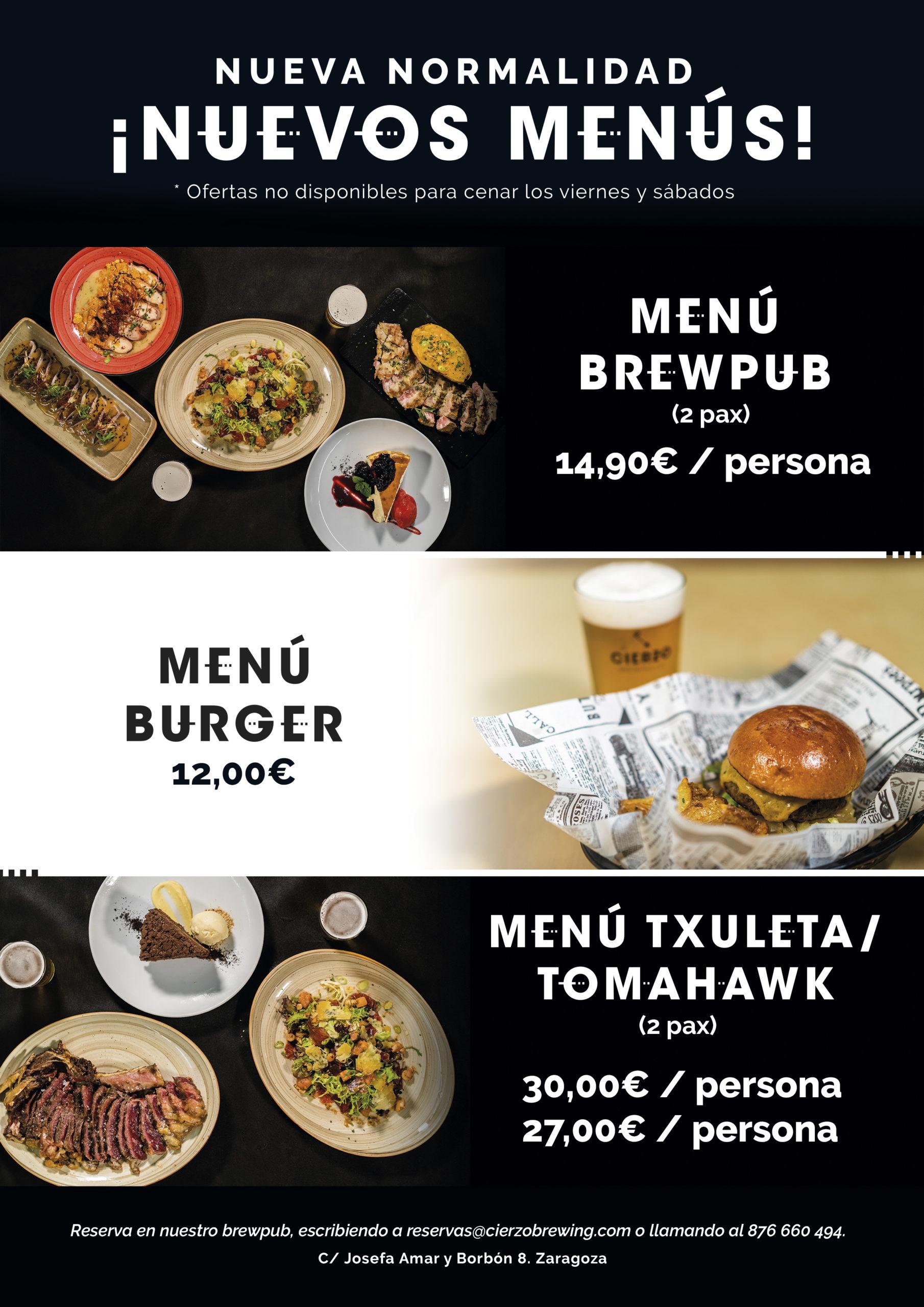 restaurante zaragoza menu comer cenar