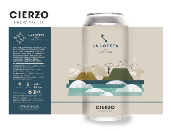 cerveza la loteta hazy doble ipa zaragoza