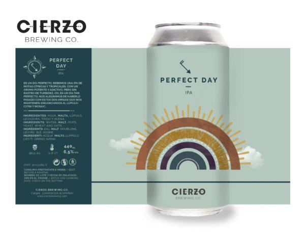 cerveza perfect day ipa zaragoza