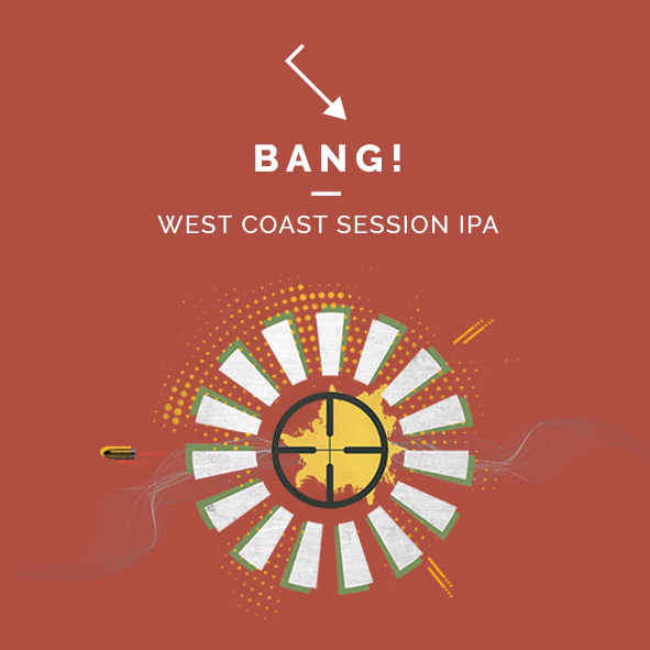 bang west coast session ipa cerveza zaragoza