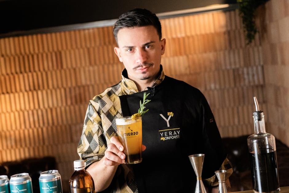 yeray monforte bartender coctelero