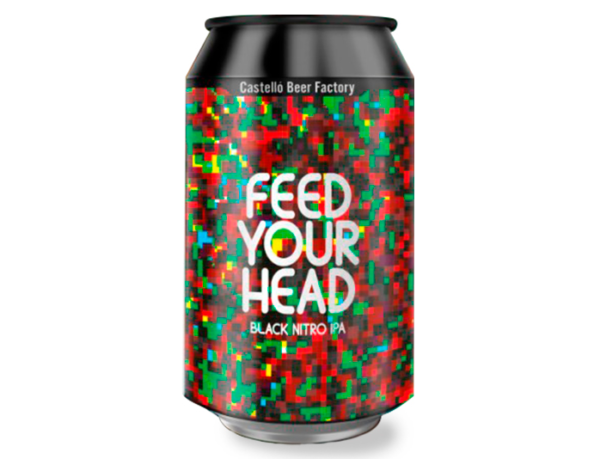 feed your head black nitro ipa castello cerveza zaragoza