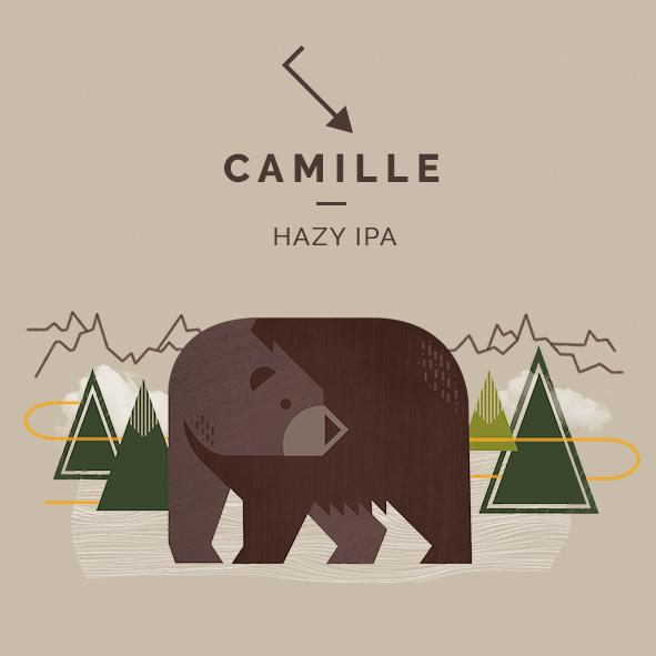 camille hazy ipa cerveza zaragoza