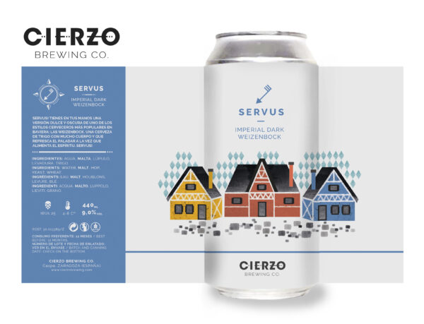 servus weizenbock cerveza zaragoza