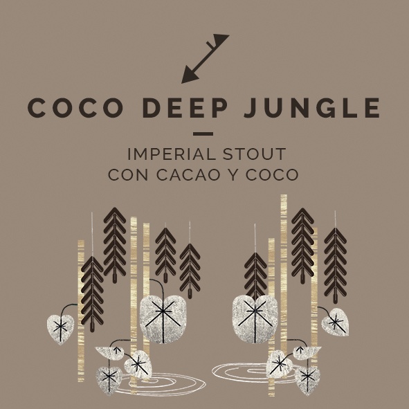 coco deep jungle imperial stout cacao zaragoza