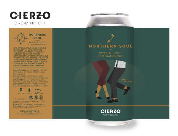 northern soul imperial stout cerveza zaragoza