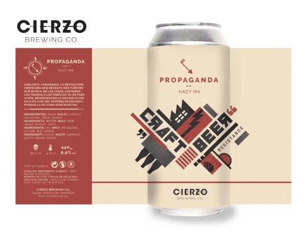 propaganda hazy ipa cerveza zaragoza