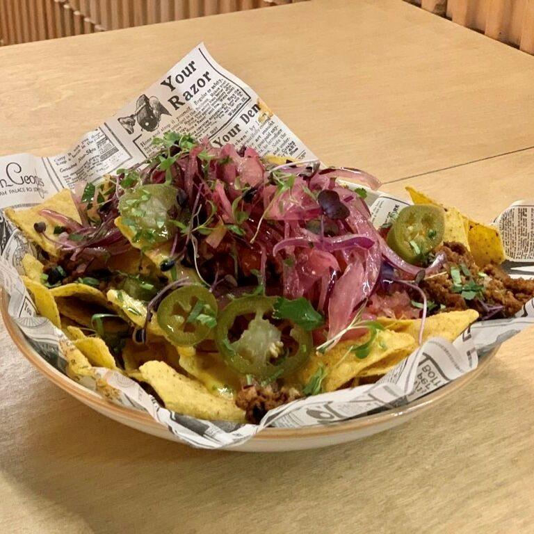 nachos comer en zaragoza