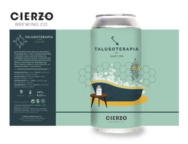 talusoterapia hazy ipa cerveza zaragoza