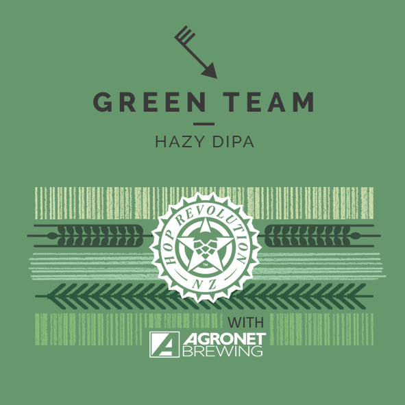 green team hazy doble ipa cerveza zaragoza