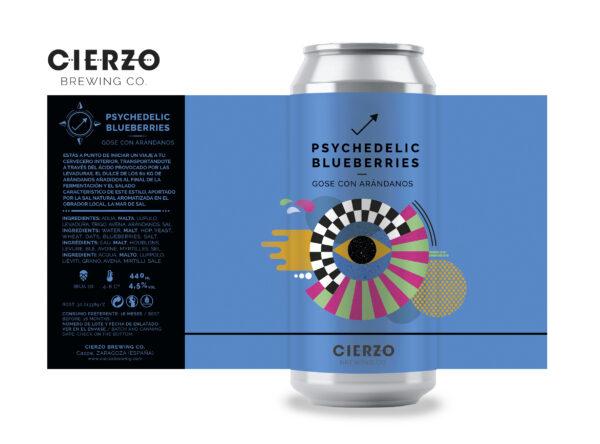 psychedelic blueberries gose arándanos cerveza zaragoza