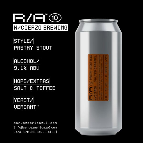 r/a 10 cerveza pastry stout río azul