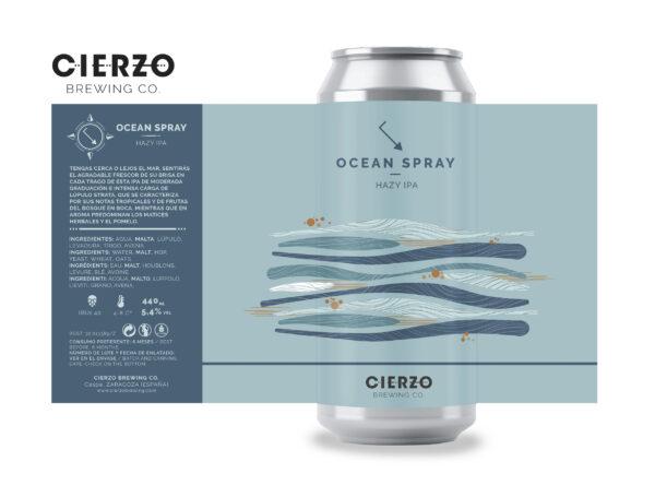 ocean spray ipa cerveza zaragoza
